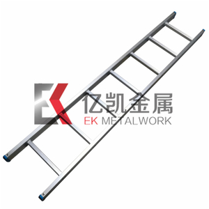Single Straight Pole 6063 Alloy Aluminium Scaffolding Ladder
