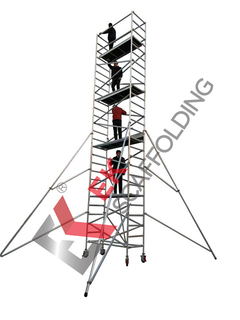 Mobile Work-Height Platform Aluminium Scaffold Tower