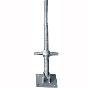 Scaffolding Adjustable Swivel Hollow Screw Jack Base