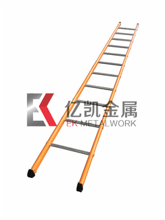 Zinc Plated and Powder Coated Scaffolding Steel Ladder for Construction