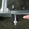 Welded Scaffolding Steel Soild U Head Base Jack
