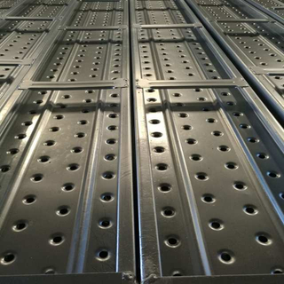 250*50mm Galvanized Steel Plank for Construction BS1139