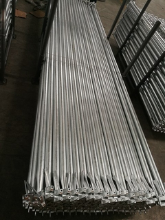 Hot Dipped Galvanized Ringlock Scaffolding System Diagonal Brace