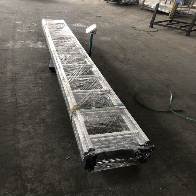 BS Standard Scaffolding Aluminium Straight Ladder for Construction