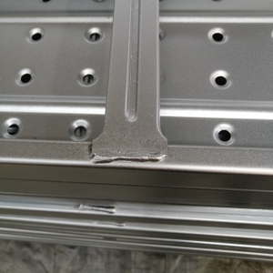 Flat Support Galvanized Scaffolding Walk Boards for Construction