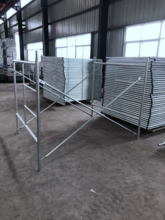 Hot Dip Galvanized HDG Self Lock Frame Scaffolding