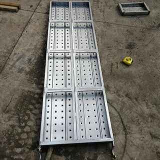 BS1139 Galvanized Steel Scaffolding Hook Planks