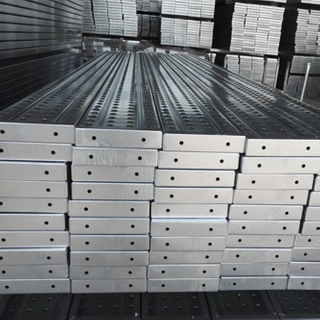 BS1139 Galvanized Steel Plank for Construction 210*40mm