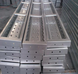 210*45mm Galvanized Steel Plank for Construction