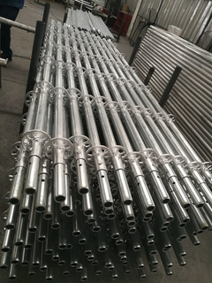 Hot Dip Galvanized HDG 4M Ringlock Scaffolding Vertical Standard