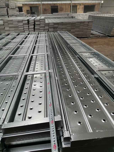 Galvanized Plank Metal Deck Scaffolding Walk Boards