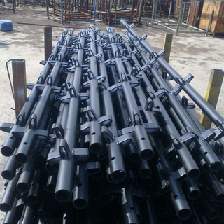 Painted or Galvanized Kwikstage System Scaffolding Standard Vertical For Sale