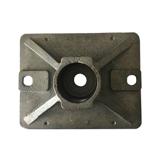 Scaffolding Casting Base Plate Jack Nut for Building