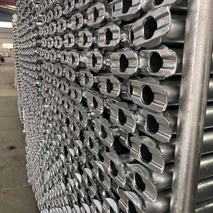 Hot Dip Galvanized Tubular Ledger Or Horizontal for Cuplock Scaffolding System