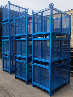 Scaffolding Accessories Storage Painted Steel Pallet
