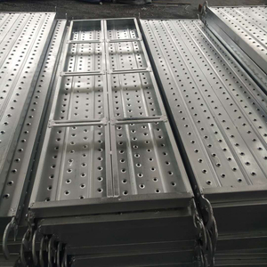 550mm Wide HDG Galvanized Hook Plank Scaffolding Walk Board